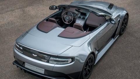 Coches que no salen de la gasolinera: Aston Martin Vantage Roadster (II)
