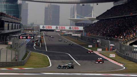 Horarios GP China F1 2017