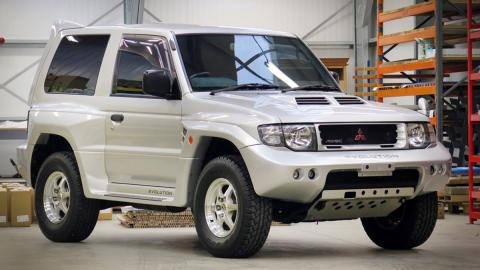 El Mitsubishi Pajero Evolution de Prince