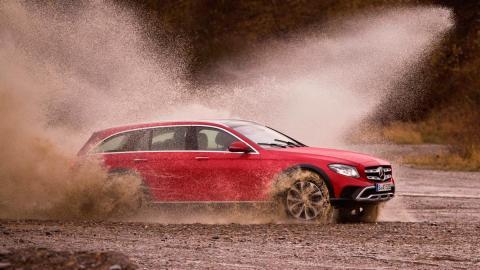Rivales Subaru Outback: Mercedes Clase E All-Terrain