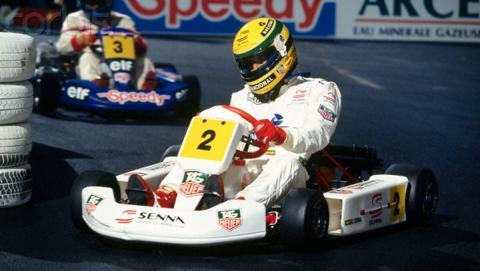 Senna Karting París-Bercy 1993