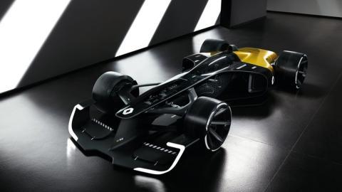Señoras y señores, con todos ustedes, el RS 2027, el espectacular prototipo de Renault F1