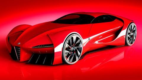 Teaser Alfa Romeo 6C
