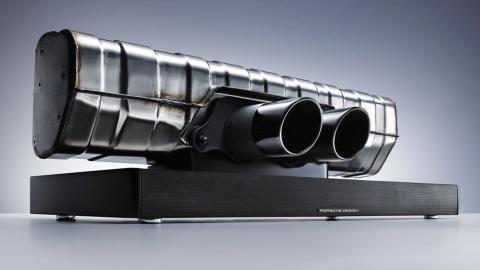 Los 10 mejores regalos para fanáticos de Porsche - Barra de sonido Porsche 911 GT3
