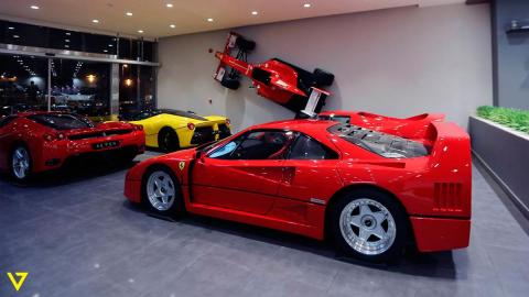 4 superFerrari a la venta F40 F50 Enzo LaFerrari