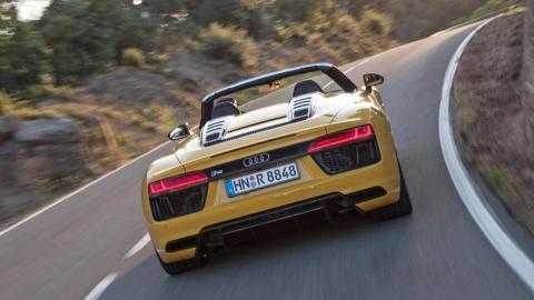 Mejores descapotables: Audi R8 V10 Spyder (II)