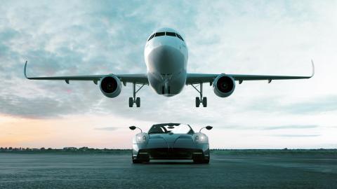 Pagani Infinito: el primer avión de Pagani jet privado