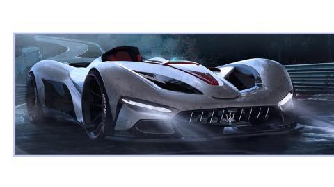Hiperdeportivo Maserati