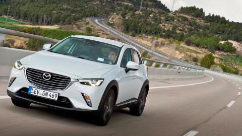 Mazda CX-3 curvas suv compacto