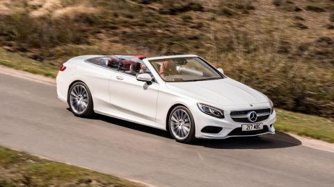 Mejores descapotables: Mercedes Clase S Cabrio (I)