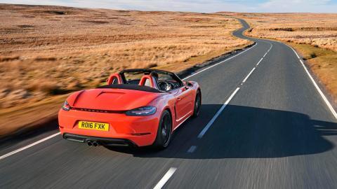 Mejores descapotables: Porsche 718 Boxster S (I)