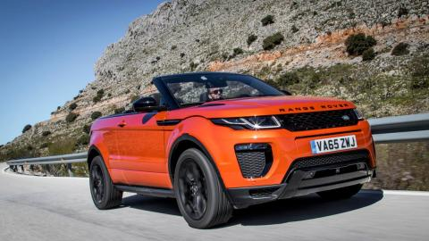 Mejores descapotables: Range Rover Evoque Cabrio (I)