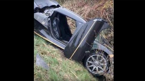 Accidente Koenigsegg Agera S