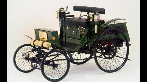 Arnold Benz Motor Carriage coche antiguo siglo xix