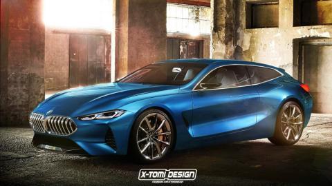 BMW Concept 8 shooting brake