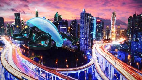 Cartivator, el coche volador de Toyota para Tokio 2020
