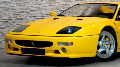 Coches con motor bóxer: Ferrari Testarossa (I)