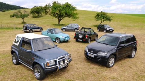 Generaciones Suzuki Vitara