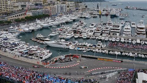 GP Mónaco, glamour a toda velocidad