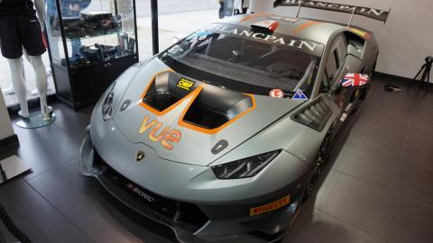 Lamborghini Huracán Super Trofeo piloto competición motorsport