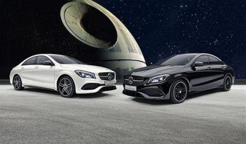 Mercedes CLA Star Wars