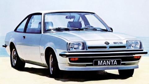 Opel Manta B GT/E - 1977