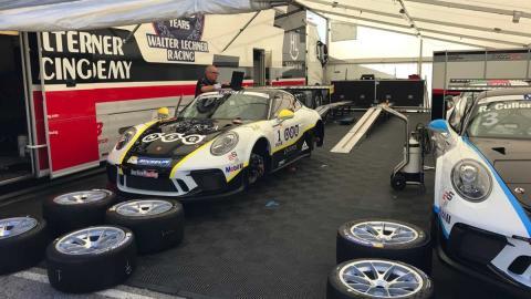 Porsche Supercup boxes