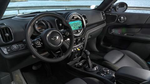 Prueba Mini Cooper S E Countryman All4 (interior)