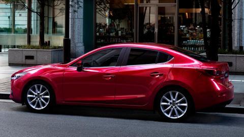 Rivales Mercedes Clase A Concept: Mazda3 SportSedán (II)