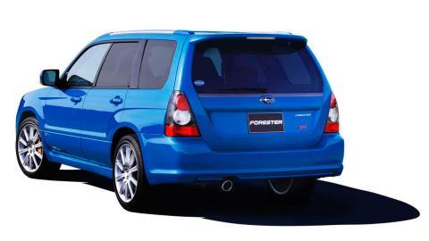 Subaru Forester STI (II)