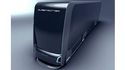 Volvo Autonomous Carrier frontal