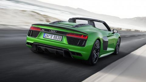Audi R8 V10 Spyder Plus descapotable deportivo superdeportivo