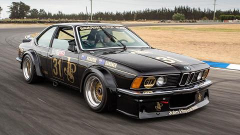BMW 635 CSI de competición coupé deportivo