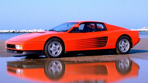 Nombres de modelos Ferrari: Ferrari Testarossa (I)