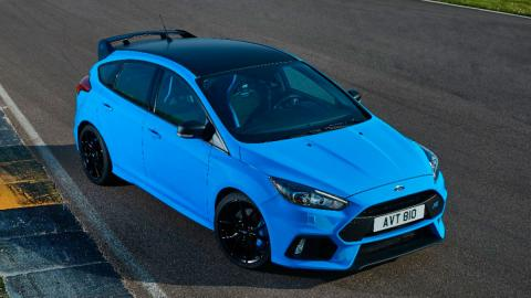 Ford Focus RS con diferencial mecánico option pack paquete