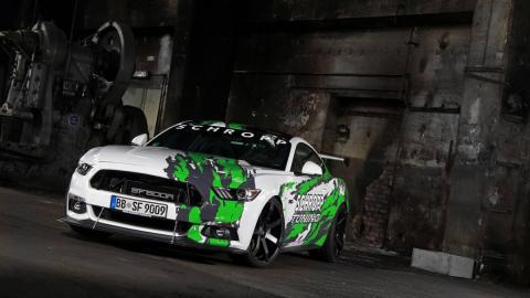 Ford Mustang de Schropp Tuning (I)