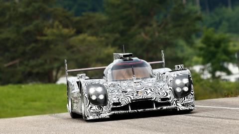 Porsche camuflaje