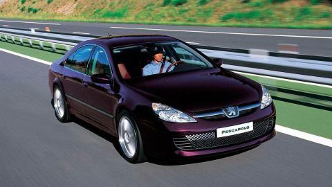 Peugeot 607 Pescarolo lujo alta gama deportivo berlina le mans