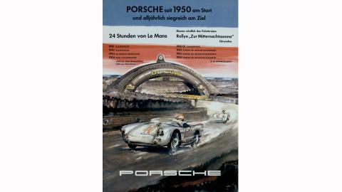 Porsche en las 24 horas de Le Mans (1954)