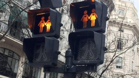 Semáforo gay friendly