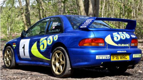 Subaru Impreza WRC Colin McRae (III)