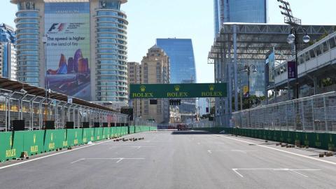 Bakú F1 Straight