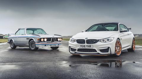 BMW 3.0 CLS vs. BMW M4 GTS (I)