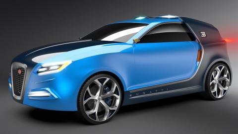 Así podría ser el SUV de Bugatti. Esperamos que no