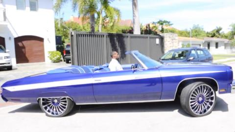Chevy Impala del ´75 de Lebron James