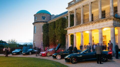 La choza de Lord Marc en Goodwood House, Chichester