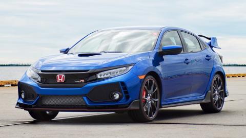 A subasta el primer Honda Civic Type R 2017