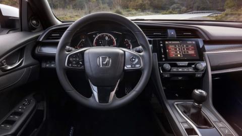 Coches para aprender a conducir con cambio manual: Honda Civic (II)