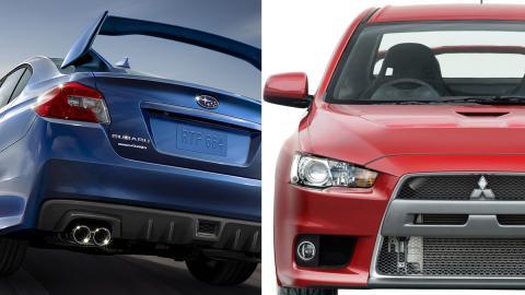 ¿Mitsubishi Lancer o Subaru Impreza?