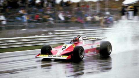Gilles Villeneuve, el auténtico héroe en el GP  Canadá F1